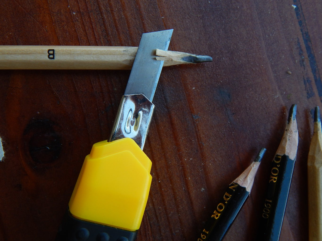 Sharpening the Pencils