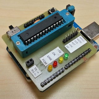 The Easiest Way to Burn Bootloader Into Atmega328P-PU