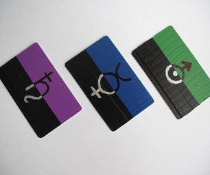 9 Hours 9 Persons 9 Doors Key Card Props
