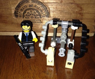 Lego Payday 2 Thermal Vault Drill