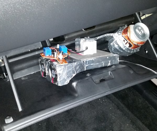 NASA Themed Can Chilling Apparatus for Your Glove Box