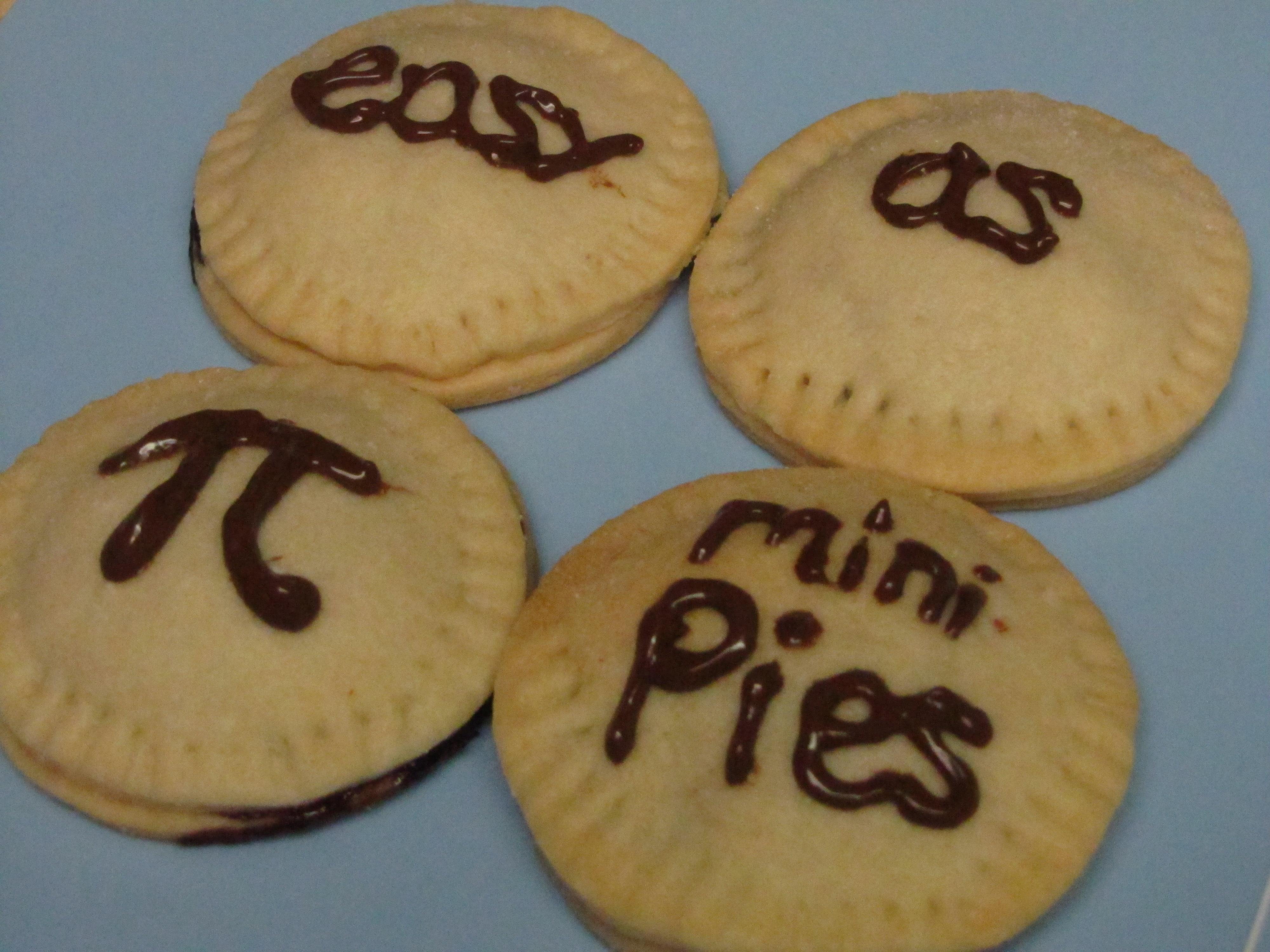 Easy as Pi Mini Pies