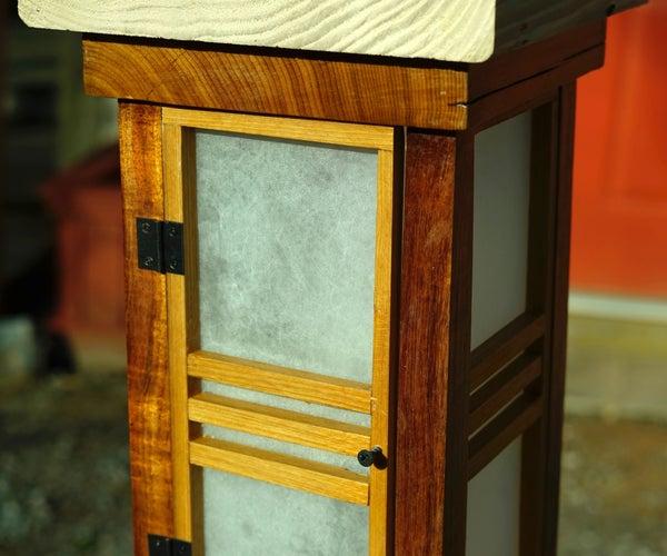 Shōji Lantern for Low Voltage Landscape Lighting
