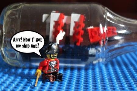 Tutorial Video - LEGO Pirate Ship in a Bottle