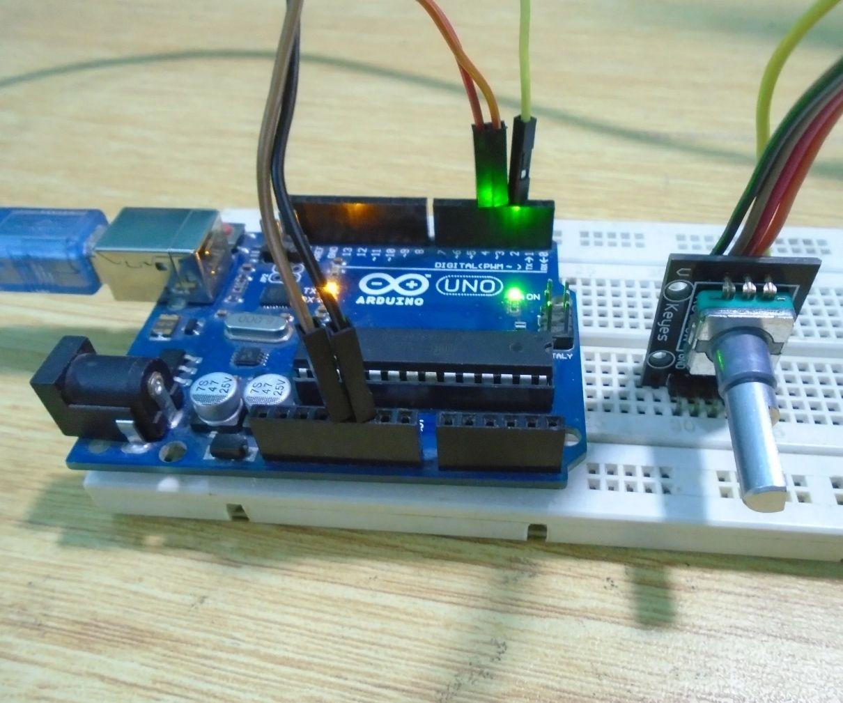 Arduino Rotary Encoder Tutorial