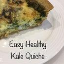 Super Easy Delicious Breakfast Quiche