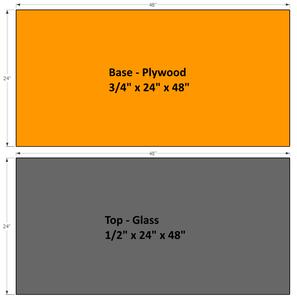 Schematics - Option 2 - Wood Build