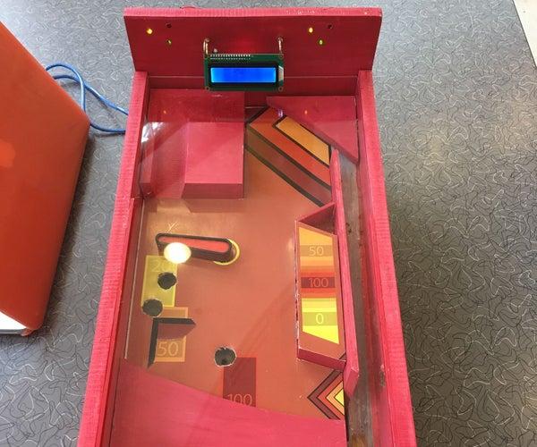 Arduino Pinball Machine