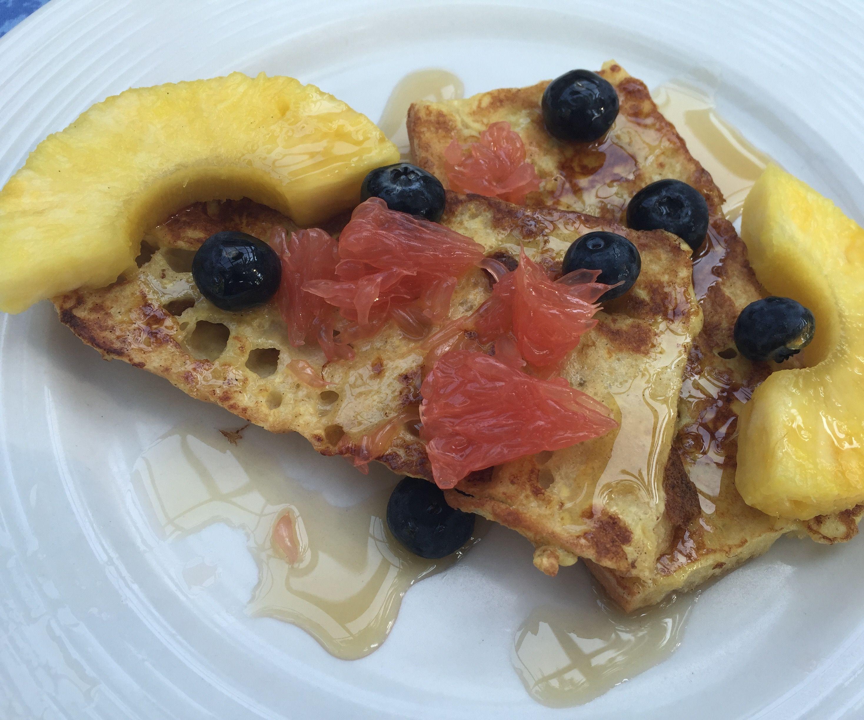 Baguette Breakfast French Toast