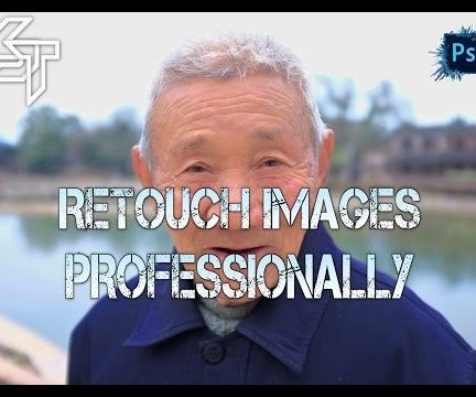 Retouch & Smooth Skin Professionally - Photoshop Tutorial