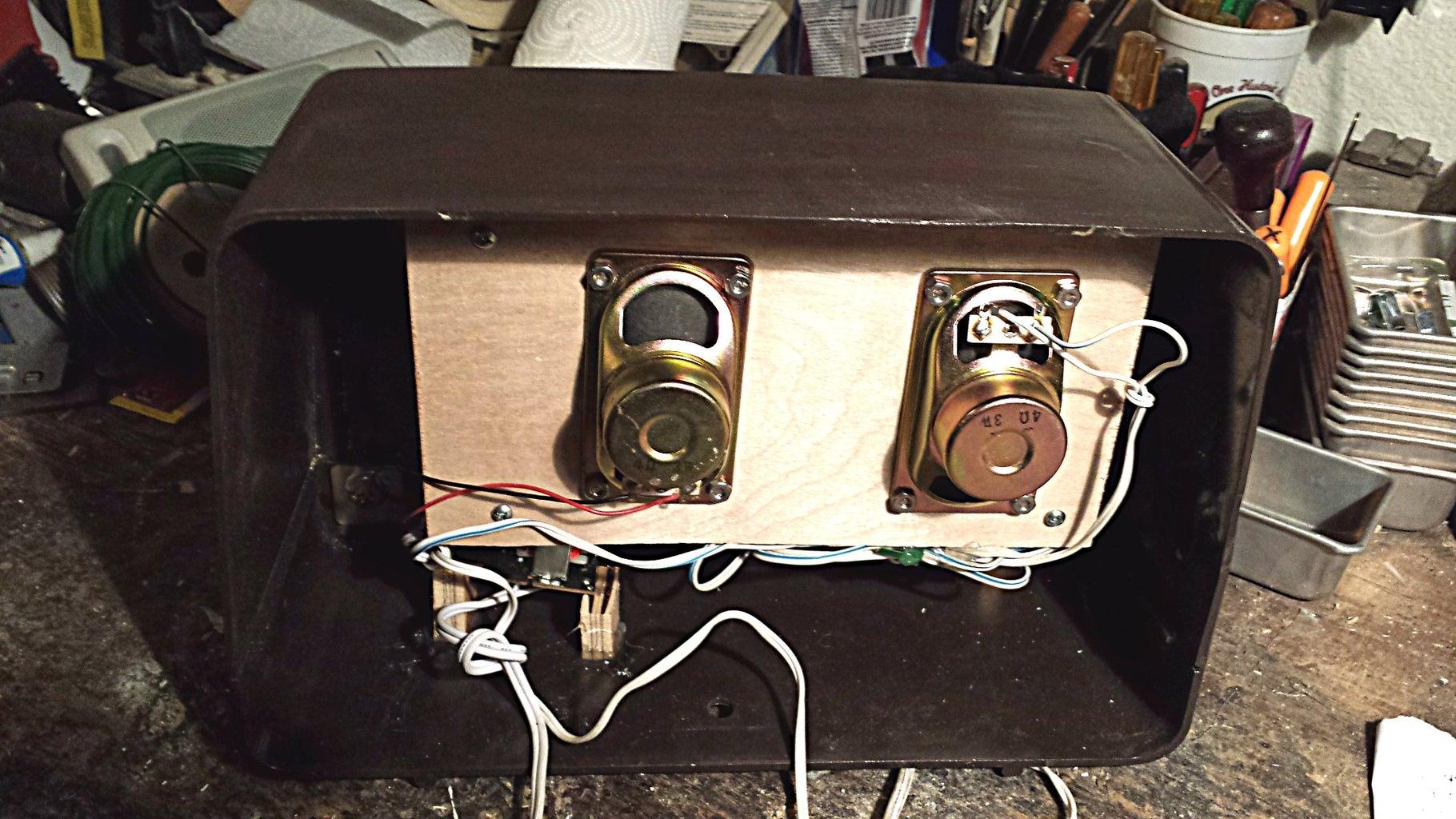 Mount the Amplifier & Speakers