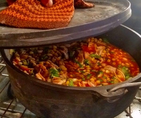 Witch's Kettle, Cilantro Chicken Chili