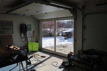 Passive Solar Thermal Doors