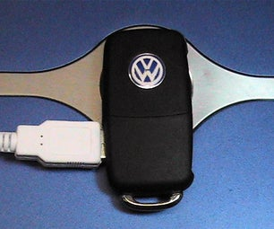 Volkswagen 4GB USB Flipkey for My MK2