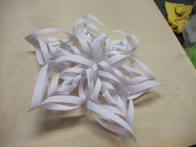 Super Easy Decorative Paper Flower/Snowflake