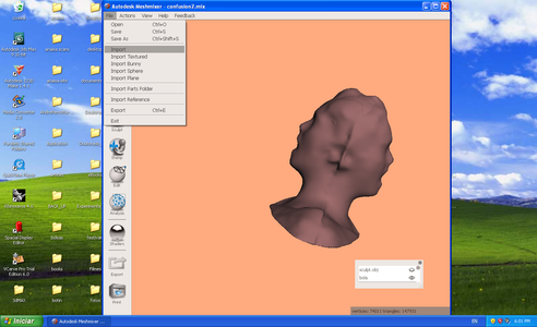Editing and Modifying 3d Shape in Mesmixer