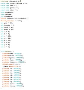 Code (Defining Variables)