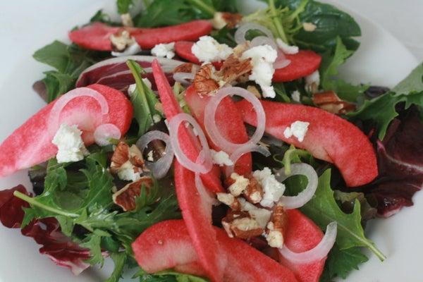 Pink Apple Salad