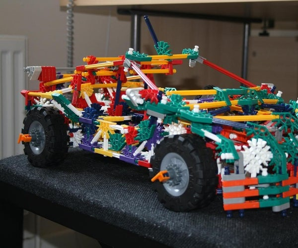 K'nex Supercar (Alternate)