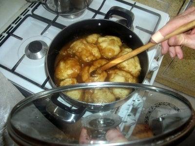 Spoon Syrup Over Dumplings