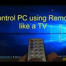 USB PC REMOTE : Control PC Using Any IR Remote Using Attiny 85