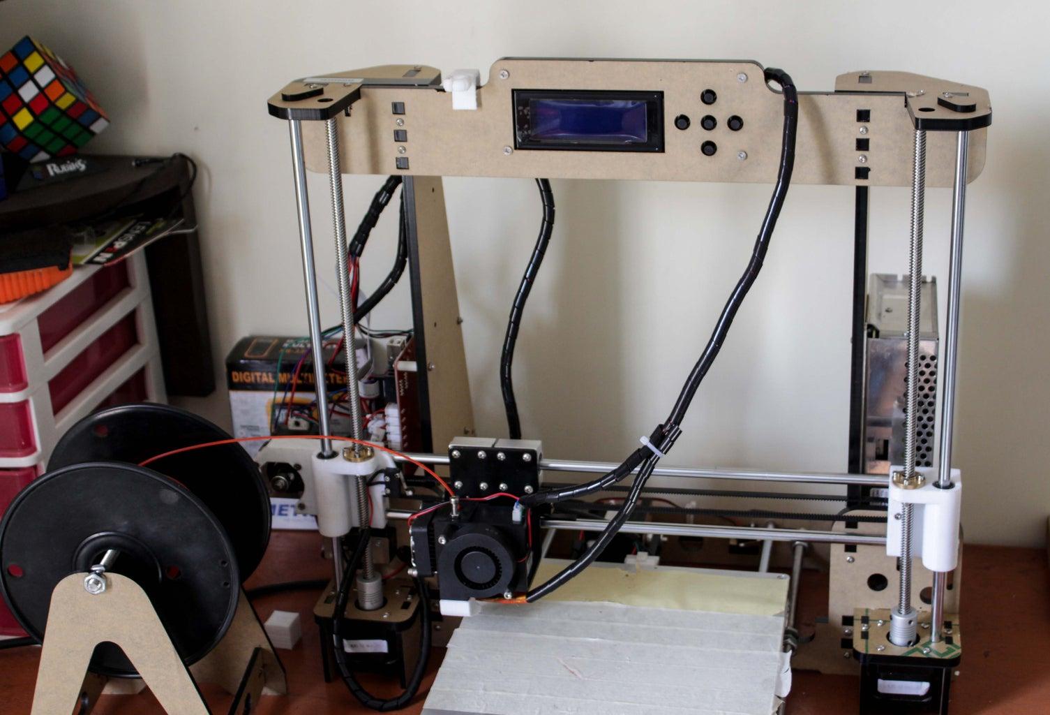 Building a 3D Printer Under $200