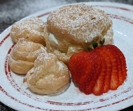 Mega Cream Puffs