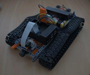 Raspberry Pi 3 FPV Lego Tank
