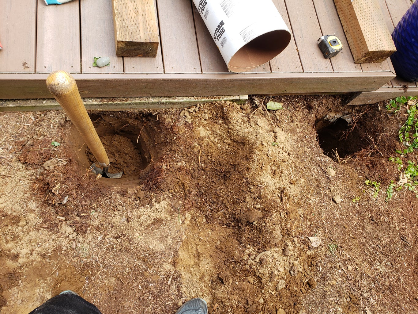 Digging the Holes