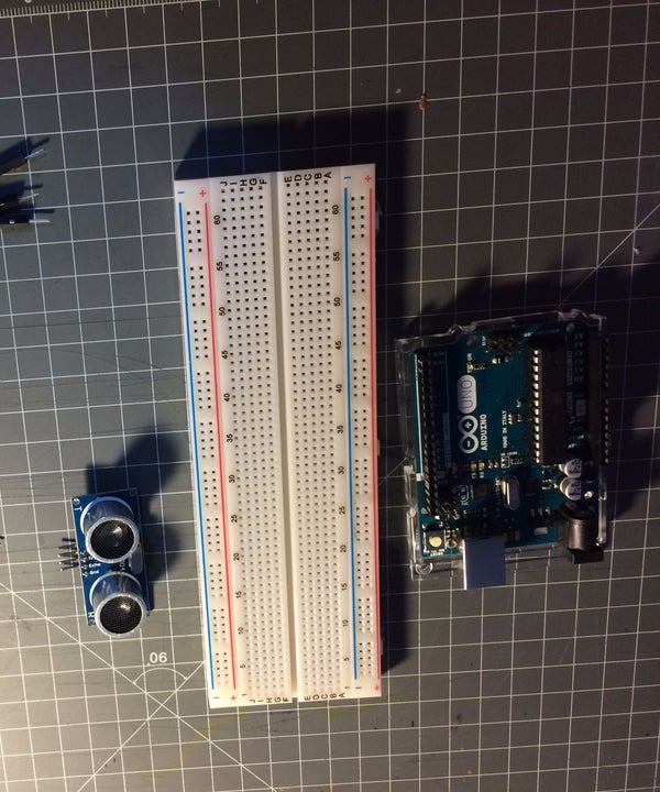 Arduino and HR-SR04