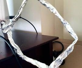 Fixing Indoor TV Aerial