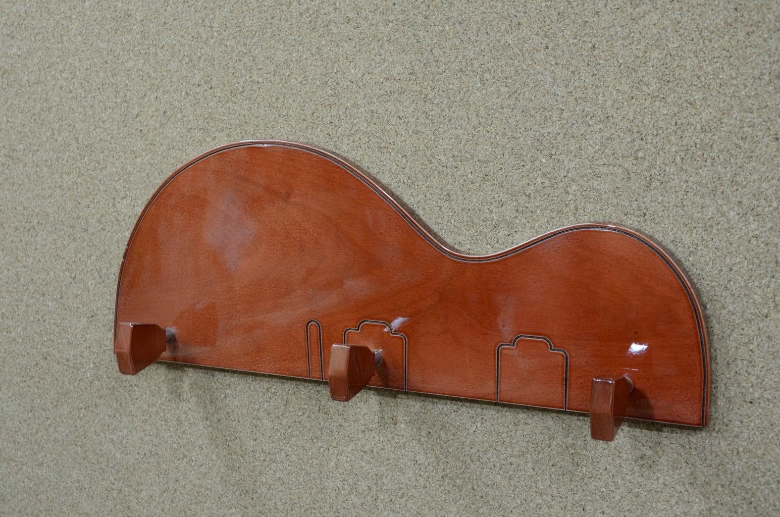 Violin/Guitar Clothes Hanger
