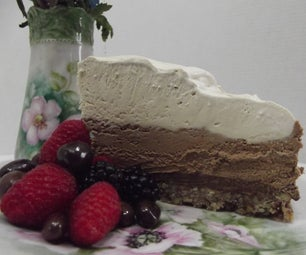 Creamy Chocolate Toffee Torte