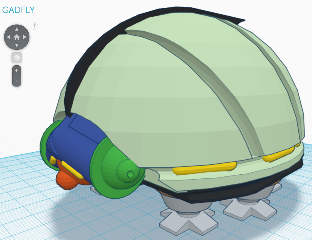 Create 3D Model in Tinkercad