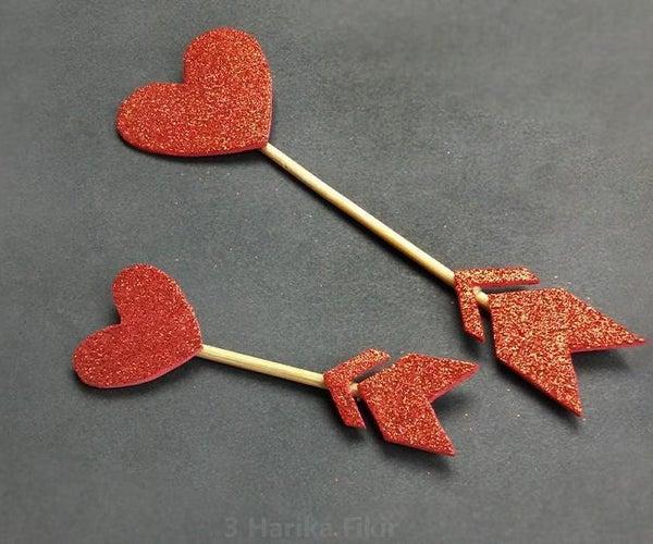 Diy Heart Arrow Mini Room Decor