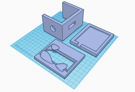 3D Printed Box-holder