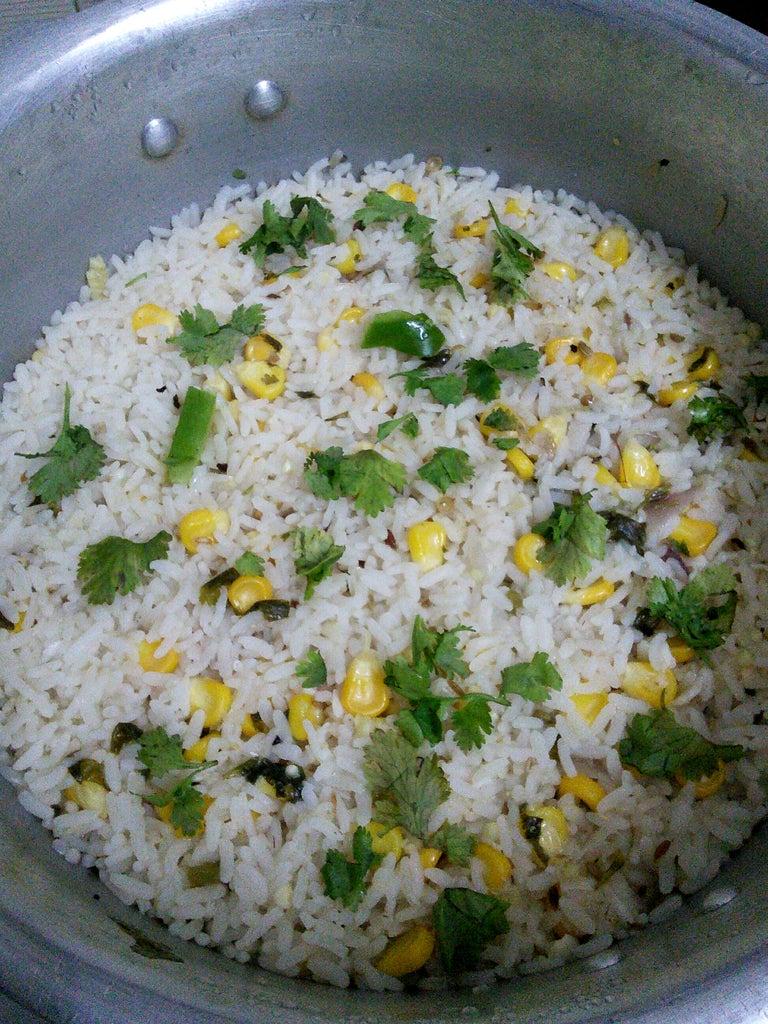 Adding the Rice