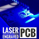 How to Make a Custom PCB Using a Low Power Laser Engraver