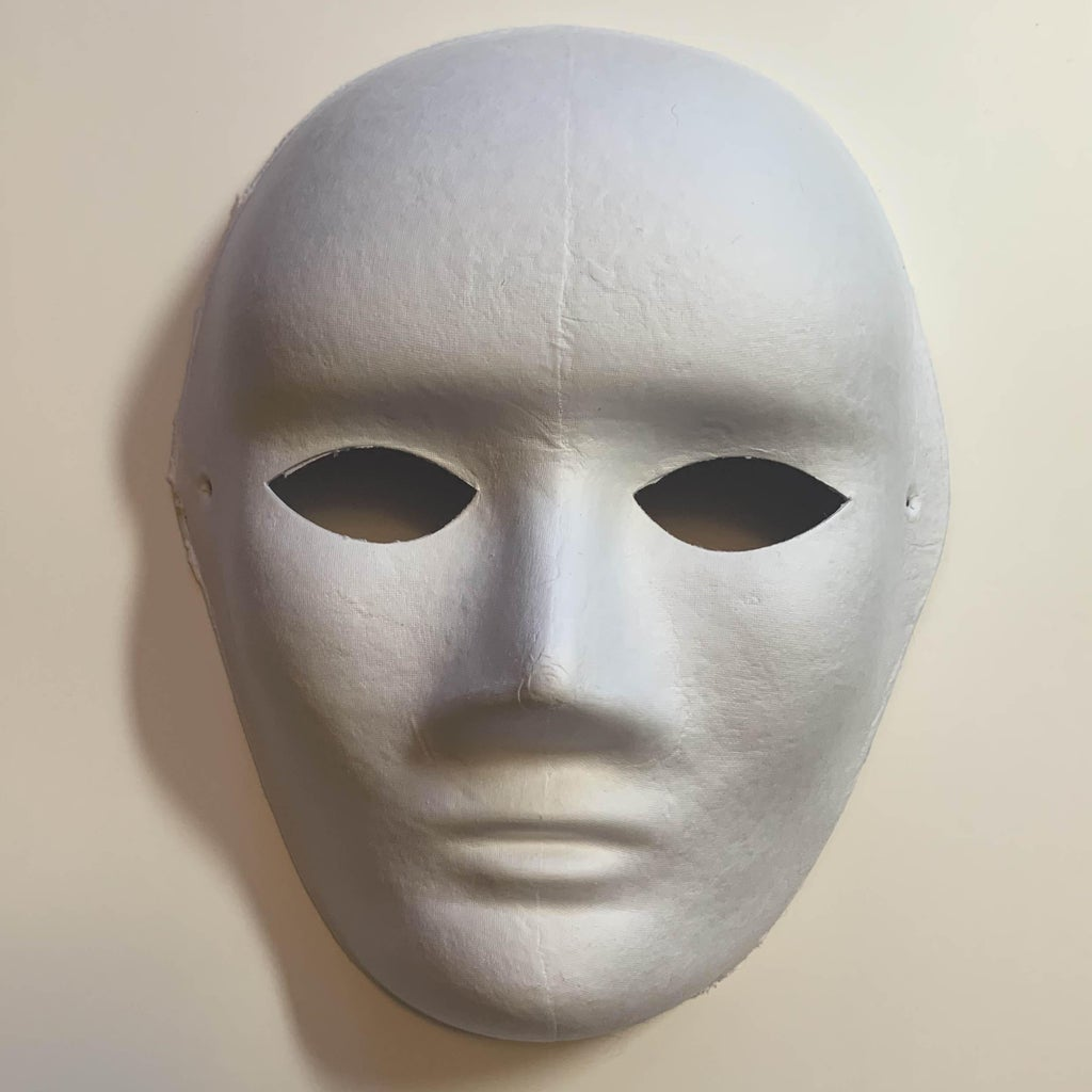 Gesso Paper Mask