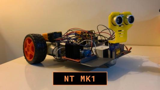Obstacle Avoiding Robot (NT1)