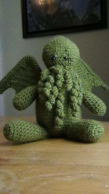 Dread Crocheted Cthulhu