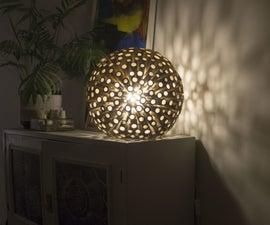 Bamboo Decorative Desk Lamp