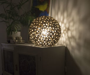 Bamboo Decorative Desk Lamp