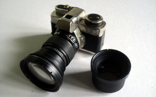 Handmade Smallest SLR Camera