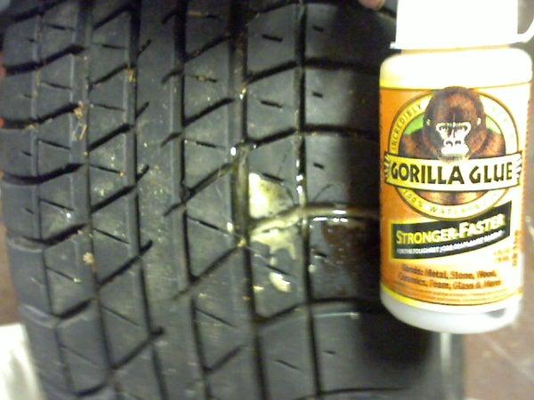 Tire Plug: Gorilla Glue Edition