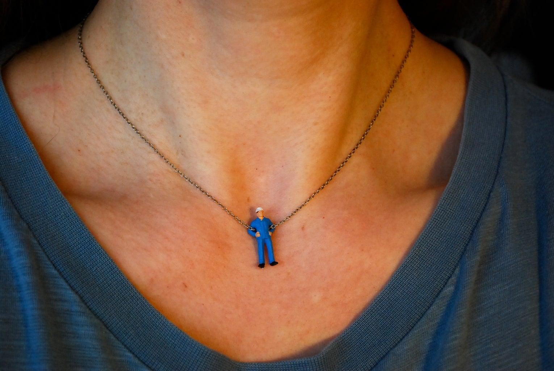 Übereinfache Halskette