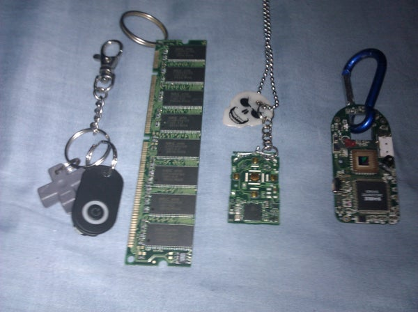 My Nerd Necklaces and Keychains I've Made
