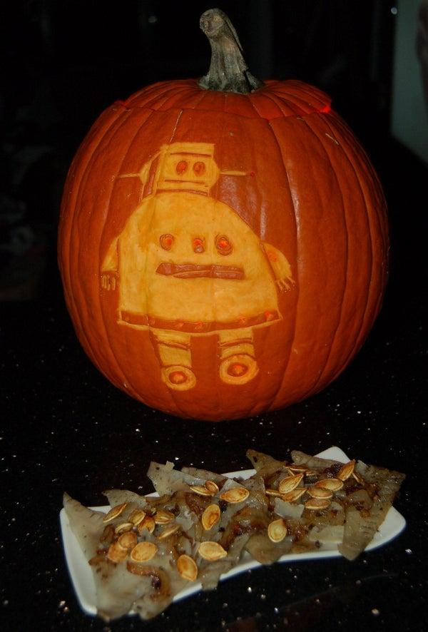 Cheater Halloween Pumpkin Ravioli W/ Caramelized Onions