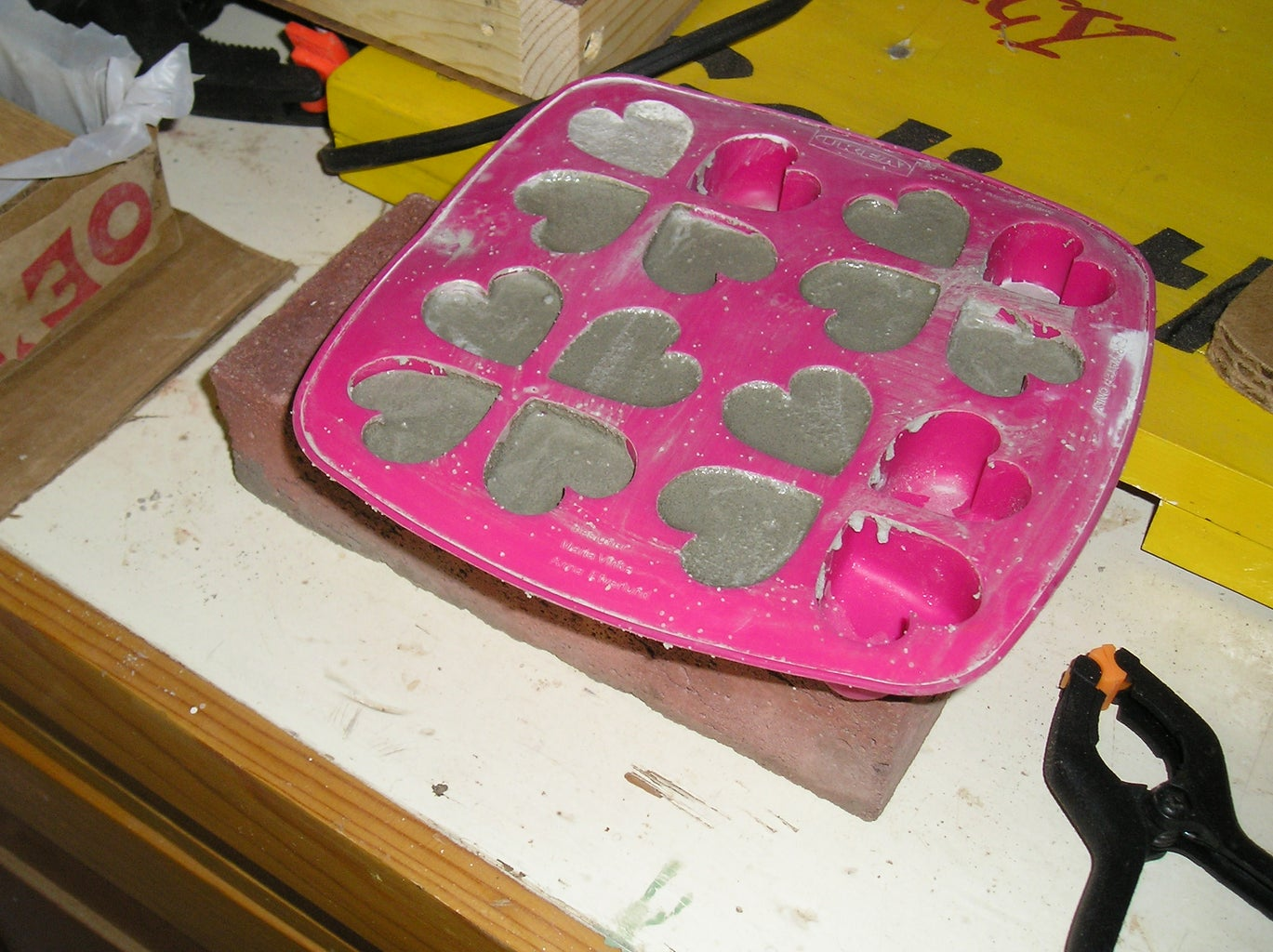 Add Mixture to Mold