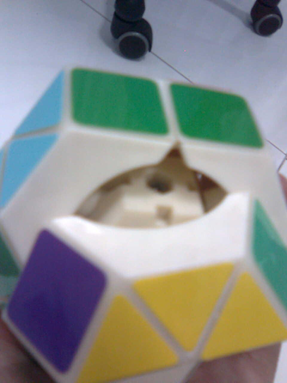 14 Sides!-Rainbow Cube Mechanism